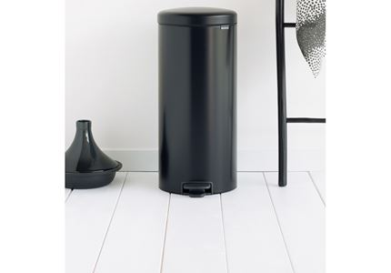 Pedal Bin Newicon, 30L Matt Black 2